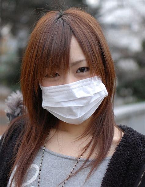 japanese people wear surgical masks