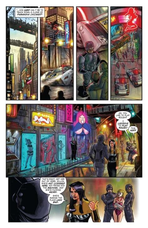 comic book preview altered carbon  blues