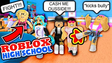 anime fight roblox fighting the bullies a roblox bully story roblox high