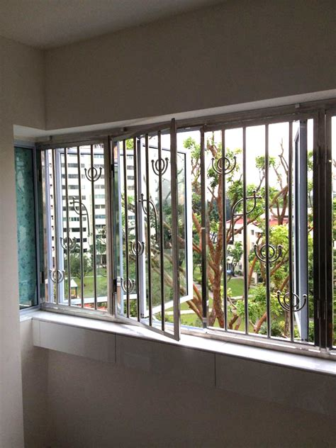 stainless steel grill top  singapore safety window