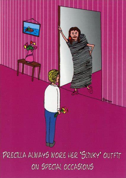 slinky funny humorous wedding anniversary card