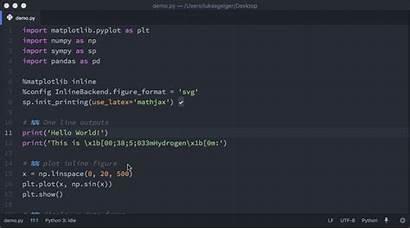 Atom Hydrogen Python Coding Source Editor Open
