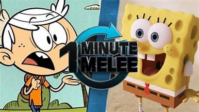 Spongebob Lincoln Vs Loud Minute Squarepants Fanon