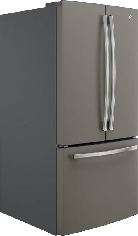 gwejmles ge   cu ft counter depth french door refrigerator slate