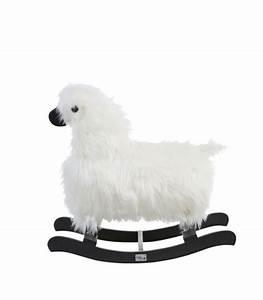 Mouton à Bascule : mouton bascule teak noir ~ Teatrodelosmanantiales.com Idées de Décoration