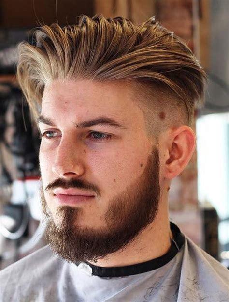 stylish long slicked  undercut hairstyles  men