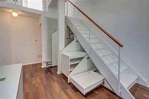Unter Treppe Ideen 65 Ideen F R Stauraum Unter Der Treppe Sch Ne