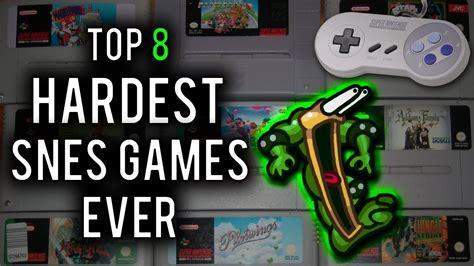 Top 8 Hardest Super Nintendo Snes Games Ever Youtube