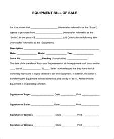 Sle Of A Bill Of Sale For An Automobile by Sle Bill Of Sale Forms 22 Free Documents In Word Pdf