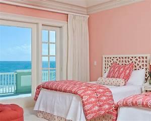 Image, Result, For, Salmon, Pink, Bedroom