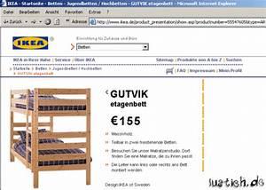 Ikea Rechnung : gutvik etagenbett bild ~ Themetempest.com Abrechnung