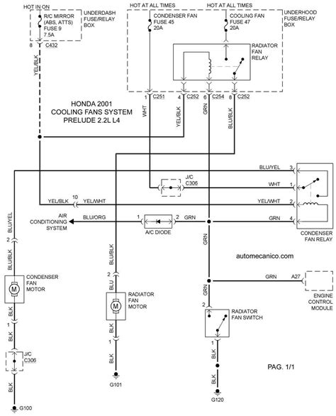 Honda Accord Cooling System Wiring Diagram Images