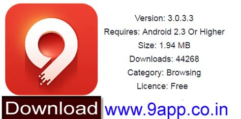 Free Download & Install 9apps Apk Version
