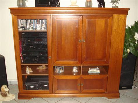 meuble merisier style louis philippe tv ou bar ventes