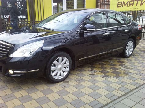 Nissan Teana Wallpapers by 2011 Nissan Teana Wallpapers 2 5l Gasoline Automatic