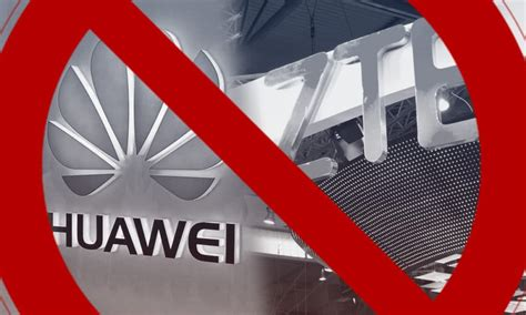 government   banned   huawei  zte