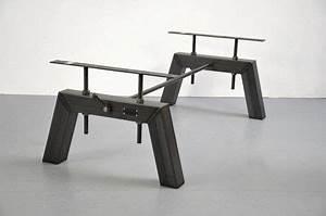Tischgestell Metall Schwarz : tischgestell vivid industriedesign tischbeine hocker tisch tischgestell und m bel ~ Frokenaadalensverden.com Haus und Dekorationen