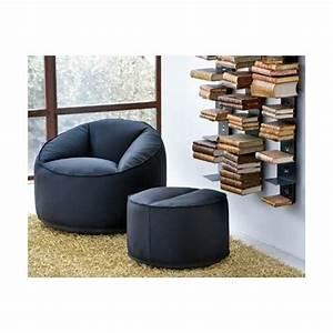 Canapé Ultra Moelleux : pouf moelleux ultra confort ~ Teatrodelosmanantiales.com Idées de Décoration