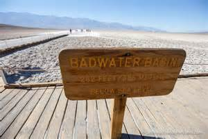 badwater basin in valley lowest point the usa california through my lens