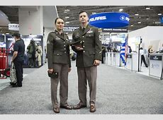 You're not seeing things Soldiers at AUSA are wearing