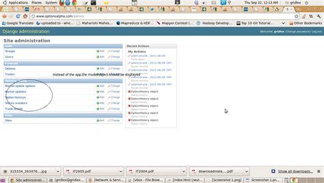 Django Template List Index templates customize django admin index page to display