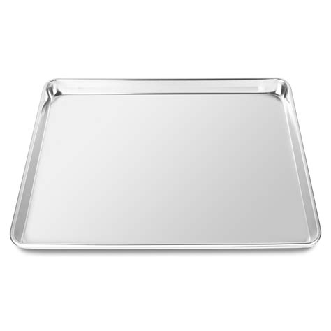 baking sizes cookie sheets aluminum trays professional jelly roll assorted