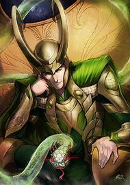 Loki Marvel Comic Art