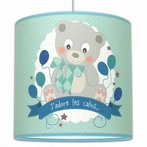 Suspension Chambre Bébé : suspension ourson luminaire chambre b b ~ Voncanada.com Idées de Décoration