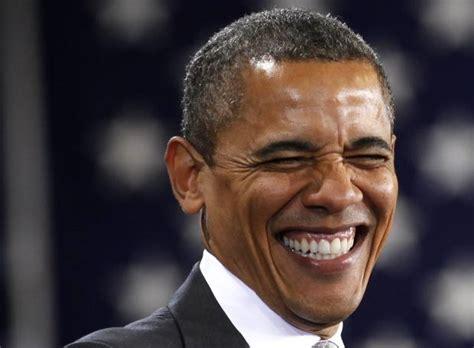 Obama Laughing Meme - obama laughing riendo blank template imgflip