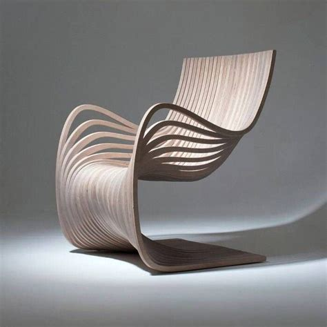 wooden chair showing movement  material conscious