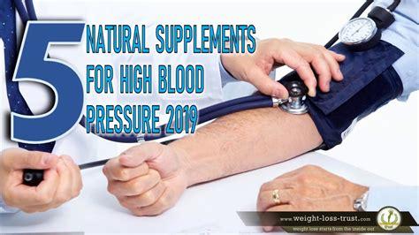 5 Best - Blood Pressure Natural Supplements [2019 ...