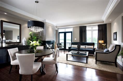 floor and decor brandon lockhart condo living dining room modern living