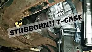 Remove Transfer Case 1988 Ford Ranger