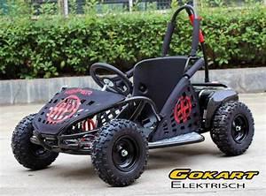 Elektro Go Kart Für Erwachsene : buggy gokart elektrisch mit 1000 watt 48 volt drosselbar schwarz quad atv kinder quads ~ Yasmunasinghe.com Haus und Dekorationen