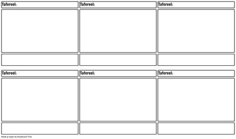 blank storyboard template film storyboard af nl examples