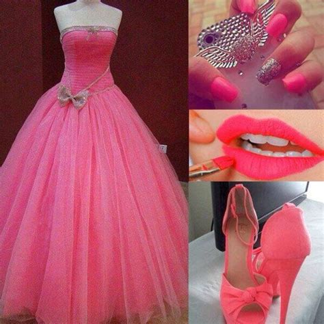 bow zara pink dress pink high heels pink prom dress pink iphone