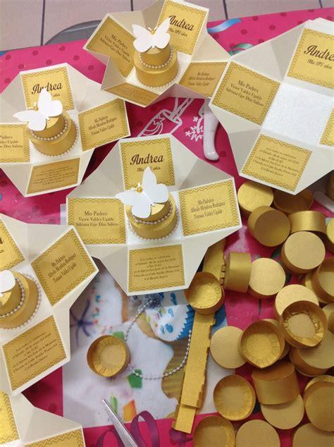 cajitas invitacion paso a paso invitaciones de cajita para 15 a 241 os boda cumplea 241 os 25