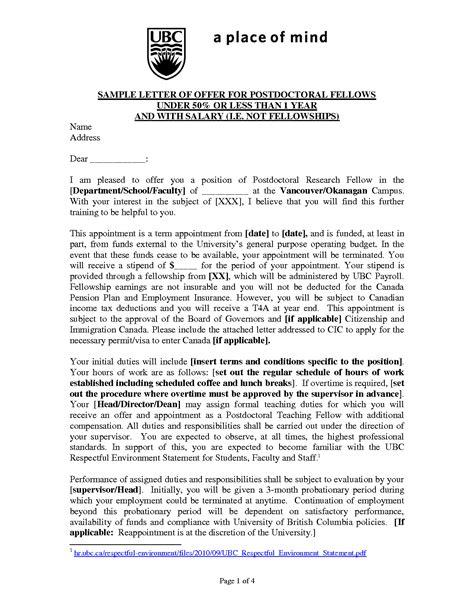 fellowship cover letter format postdoc cover letter resume badak