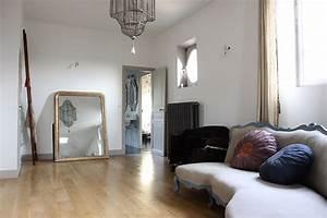 Parquet noir murs blancs C0089 Mires Paris