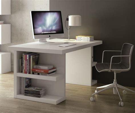 bureau laqué bureau design temahome multi storage 160 x 90 blanc