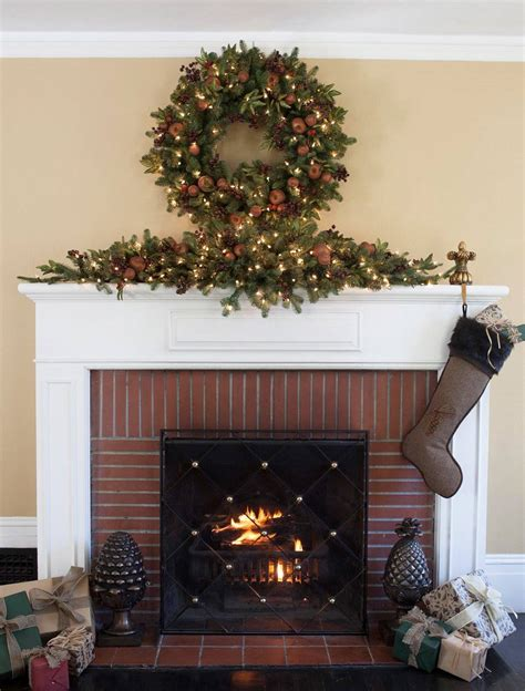 mantle swags orchard harvest mantel swag balsam hill