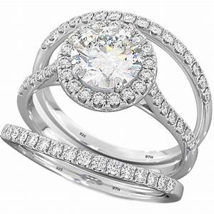 nowforever and always wedding ring set With 3 ring set wedding rings