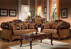 Traditional living room furniture sets traditional living for Set of living room furniture