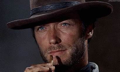 Eastwood Clint Actor Western Cowboy Cigar Smoking