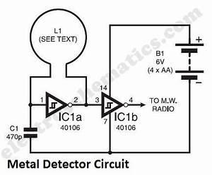 simple metal detector circuit circuit diagram world With circuitdiagram sensorcircuit infraredsensingdrivecircuitdiagram