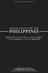 quote help Phil... Haiyan Typhoon Quotes