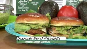 McDonald's announces new guacamole burgers, chicken ...
