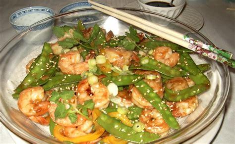 ma cuisine orientale ma cuisine sans prétention sauté de crevettes au sésame