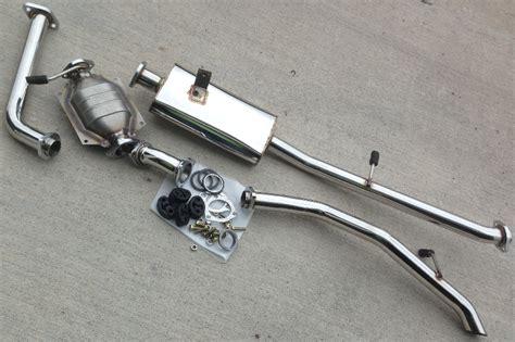 Suzuki Samurai Exhaust roadless gear stainless steel 2 quot exhaust kit for samurai