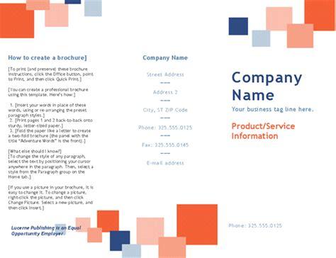 Tutorial Create A Tri Fold Business Brochure Saxoprint Brochure Tri Fold Templates Keni Candlecomfortzone